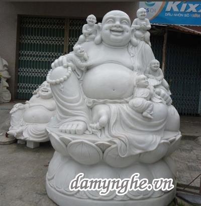Tượng Phật Di Lặc bằng đá giá rẻ tại Đà Nẵng